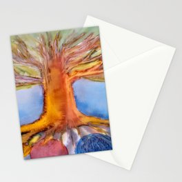 Yggdrasil, Nifleheim and Muspelheim Stationery Cards