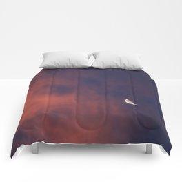 Hide and Go Find Moon Comforters