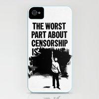 Blackout iPhone (4, 4s) Slim Case