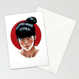 Red and Black Stationery Cards