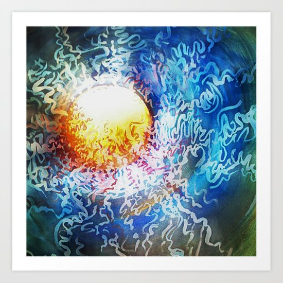 Zeitgist Art Print