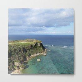 Coastal Shallows Metal Print