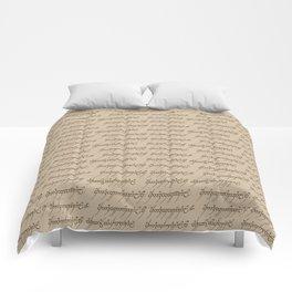 Elvish // Tan Comforters