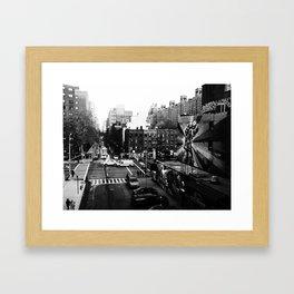 25th St. Framed Art Print