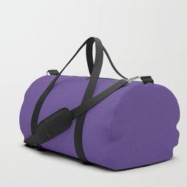 Solid Ultra Violet pantone Duffle Bag