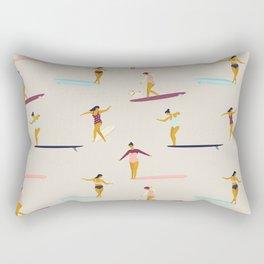 Dancers of the sea Rectangular Pillow