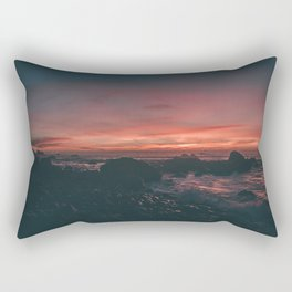 California Sunset II Rectangular Pillow