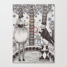 Winter Circus Canvas Print