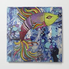 Colorful fish 2 Metal Print