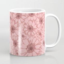 Mauve Floral Coffee Mug