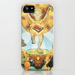 L'equilibrio divino iPhone Case