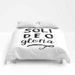 Soli Deo Gloria Comforters