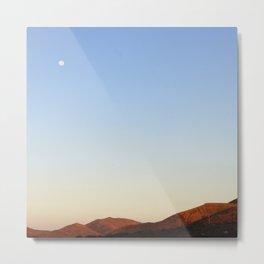High Moon Sky Metal Print