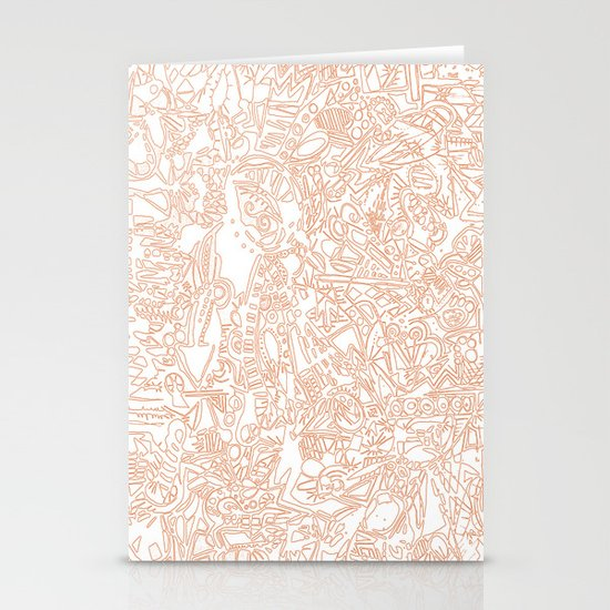 These Lines [We Draw] Stationery Cards