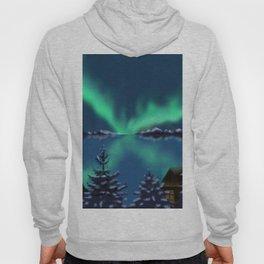 Winter Northern Lights Hoody