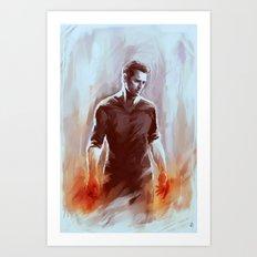 PETER HALE Art Print
