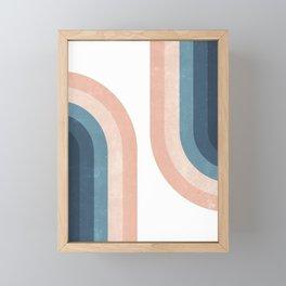 70s Rainbow Framed Mini Art Print