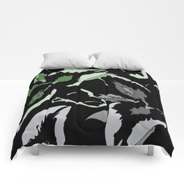 FLORAL ABSTRACTION Comforters