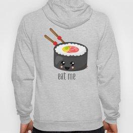 Eat Me in black Hoody