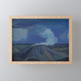 Canadian Landscape Oil Painting Franklin Carmichael Art Nouveau Post-Impression The Nickel Belt 1928 Framed Mini Art Print