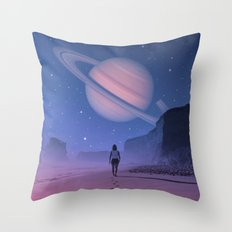Glimpse of a Dream Throw Pillow