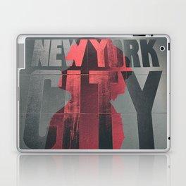 NEW YORK AFRO CITY Laptop & iPad Skin