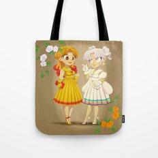 Retro Sailor Galaxia & Cosmos Tote Bag