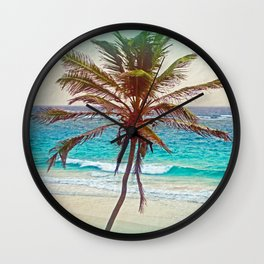 PALM PLEASURE Wall Clock
