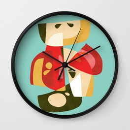 Apple Slices Wall Clock