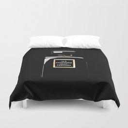 Black Parfum on black Duvet Cover