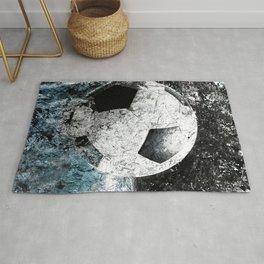 Modern soccer version 1 Rug