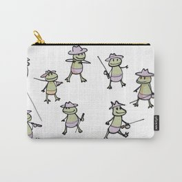 Lots of Finias Frogs Carry-All Pouch