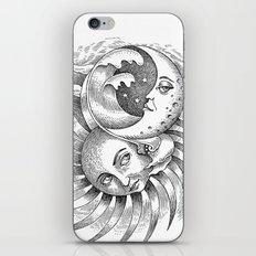 Moon and Sun iPhone & iPod Skin