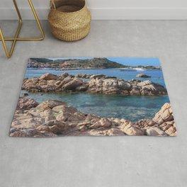 Glimpses from La Maddalena, Sardinia Rug