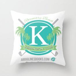 Rosemary Beach Kerrington Club Throw Pillow