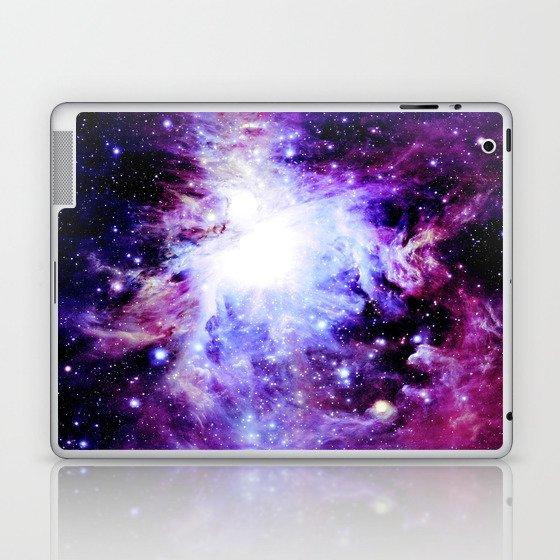 orion Nebula. Purple Magenta Violet Laptop & iPad Skin
