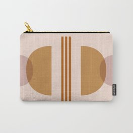 Amber Abstract Half Moon 2 Carry-All Pouch