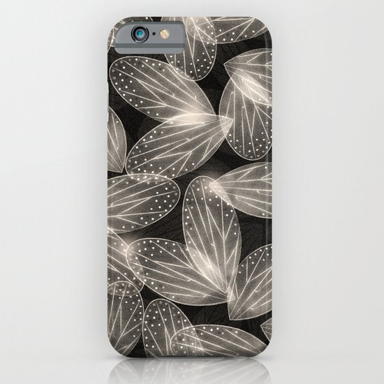 Fallen Fairy Wings - Silver Screen Edition iPhone & iPod Case