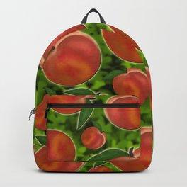 Ripe peaches   Backpack