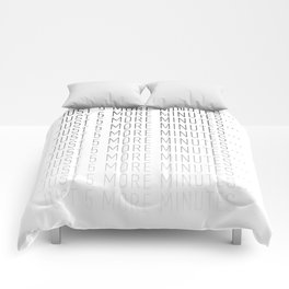 PAUSE – Just 5 More Minutes Comforters