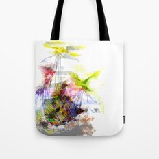 Flying Home (Glitch Remix) Tote Bag