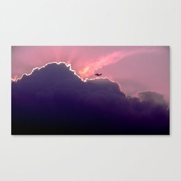 Above and Beyond Canvas Print
