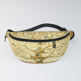 Gustav Klimt The Tree Of Life Fanny Pack