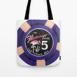 Flamingo - Casino Chip Series Tote Bag