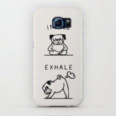 Inhale Exhale Pug Galaxy S8 Slim Case