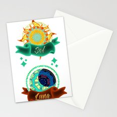 Sun & Moon Stationery Cards