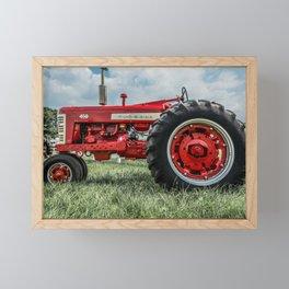 Vintage IH Farmall 450 Side View Framed Mini Art Print