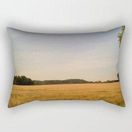 Wheat field Rectangular Pillow