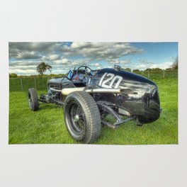 GN Instone Special  Vintage Racing Car Rug
