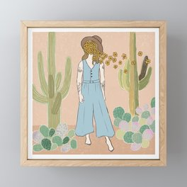 Southwest Dreaming Framed Mini Art Print